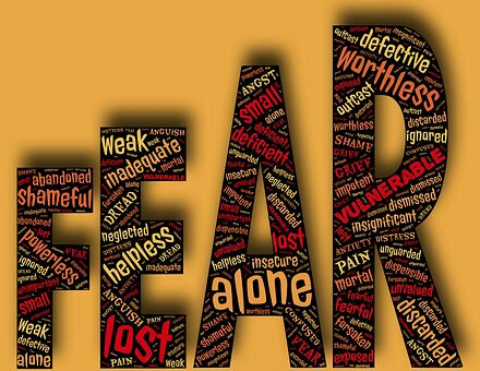 Avoid the fear of falling apart in life