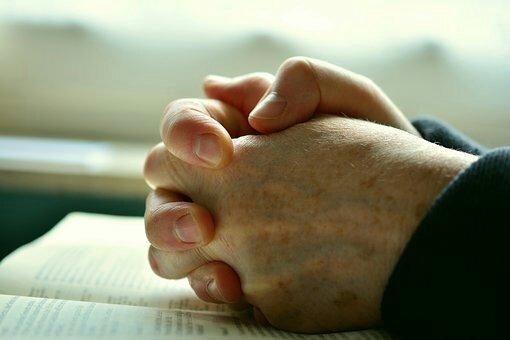 Do not stop praying