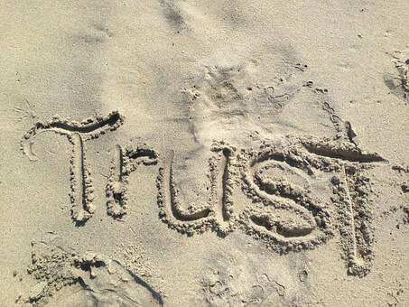 You should not trust anyone